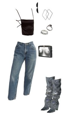 """""""Untitled #259"""" by iam-eve ❤ liked on Polyvore featuring Vivienne Westwood, Yves Saint Laurent and Emanuele Bicocchi"""