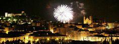 fuegos artificiales Fiestas Alcañiz 2012