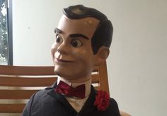 Slappy wants to play a little game. In 3 words, tell him what gives you Goosebumps! Goosebumps 2, Slappy The Dummy, Ventriloquist Dummy, Ghost Movies, Little Games, Funny As Hell, Winx Club, Creepypasta, Dankest Memes