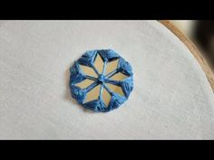 Video tutorial by DAZAK Arts on Simple Mirror Work Embroidery Hand Embroidery Videos, Embroidery Works, Hand Embroidery Stitches, Embroidery Jewelry, Hand Embroidery Designs, Diy Embroidery, Embroidery Patterns, How To Make Mirror, Latest Bridal Mehndi Designs