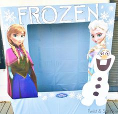 Our Frozen Birthday Party