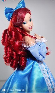Barbie Ariel the little mermaid disney princess belle Barbie Princesse Disney, Disney Barbie Dolls, Ariel Doll, Disney Princess Dolls, Princesa Disney, Princess Art, Mermaid Princess, Princess Belle, Little Mermaid Doll