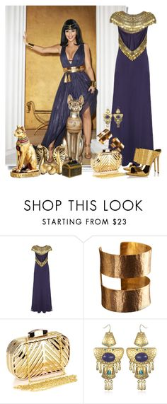 """Kim Kardashian als Cleopatra"" by sella103 ❤ liked on Polyvore featuring Temperley London, ADIN & ROYALE, Chicnova Fashion, Sequin and Giuseppe Zanotti"