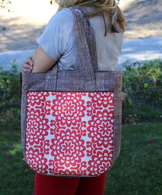 Noodlehead Super Tote | Flickr - Photo Sharing!