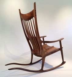 sam maloof rocking chair plans hal taylor reclining movie theater 39 best chairs images swing paddle8 studio woodworking