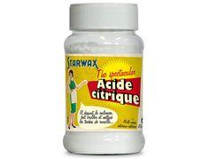 L'acide citrique, ou le produit indispensable pour retirer le tartre ou la rouille efficacement. Un nettoyant que l'on retrouve dans toutes les maisons !