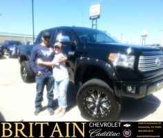 https://flic.kr/p/F3q71Q | Britain Chevrolet Cadillac Customer Review | Our experience with Mike Donahoe at Britain Chevrolet was great! Extremely helpful and friendly.  Bo & Kellie, deliverymaxx.com/DealerReviews.aspx?DealerCode=I827&R...