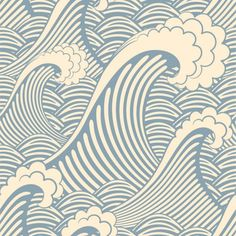 Waves of Chic - next year's dorm room?  Or is it too busy