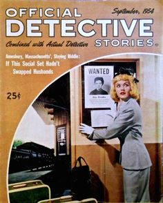 Official Detective Stories - September 1954