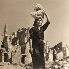 Italian Vintage Photographs ~ #Italy #Italian #vintage #photographs #family #history #culture ~ Montecassino Lazio