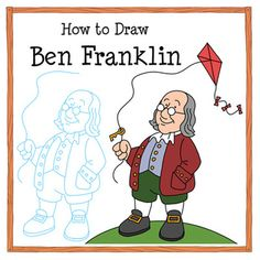 How to Draw Ben Franklin: A Step-by-Step Drawing Tutorial