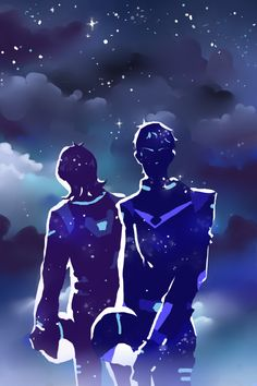 VLD fanart - Keith & Lance Sharing Starry sights with you