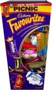 Cadbury Favourites - Seriously, all of the best in one bag!!