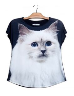 Camiseta Gato Birman www.usenatureza.com #UseNatureza #JeffersonKulig