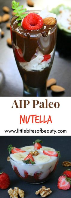 A healthy spin on the classic hazelnut spread favorite, this Paleo Nutella recipe is dairy free, gluten free, refined sugar free and Autoimmune Paleo friendly!