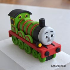 CAKEroom.pl - Thomas the tank engineering character tutorial