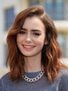 Lily Collins's brows would make Frida Kahlo jealous (we sure are).