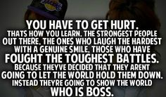 you have to get hurt