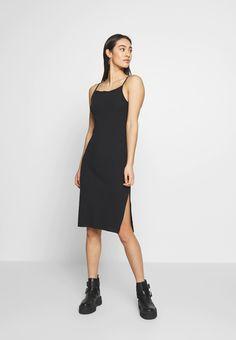 Even&Odd BASIC - Etuikjole - black - Zalando.no Pair Et Impair, Wal G, Black Noir, Even And Odd, Dress Robes, Dresses For Work, Summer Dresses, Models, Summer Looks