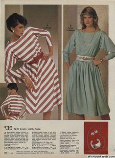 Early 90s Fashion, Sixties Fashion, Retro Fashion, Vintage Fashion, Mint Green Dress, Cute Girl Dresses, 80s Outfit, Montgomery Ward, Fashion Marketing