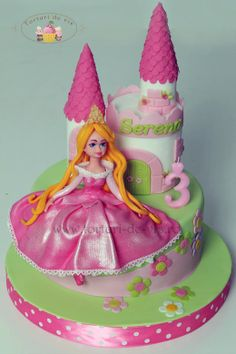 Cakes - Princess Aurora on Pinterest  Aurora cake, Princess aurora ...