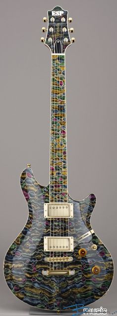 ESP Potbelly-QM Mosaic #Guitar #Instrument #Music