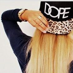 Snap back Dope hat by LuccaCharles on Etsy