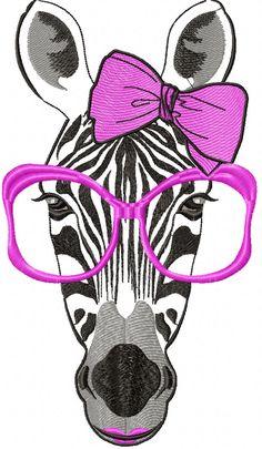 Zebra free embroidery design - Animals free machine embroidery design - Machine embroidery forum