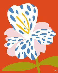 Trendy ideas for flowers illustration art colour Illustration Blume, Pattern Illustration, Botanical Illustration, Henri Matisse, Motif Vintage, Floral Illustrations, Pattern Art, Flower Pattern Design, Art Inspo