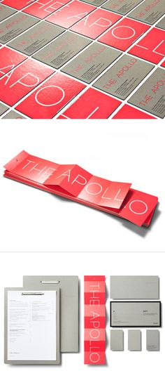 visual identity / the apollo restaurant