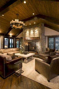 Unusual Farmhouse Living Room Design Ideas