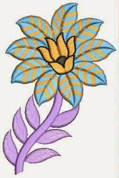 Indiese rekenaar borduurwerk Quilt