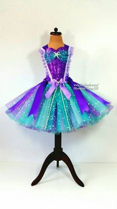 mermaid teal and pearls super sparkly tutu dress short birthday Olaf Halloween Costume, Sparkly Shorts, Carnival Dress, Ariel Costumes, Princess Tutu Dresses, Little Mermaid Parties, Tulle Tutu, Tutus For Girls, Mermaid Birthday