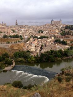 Toledo, Spain is such a beautiful city.