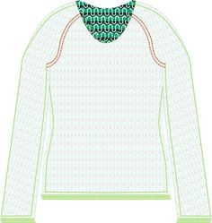 Een nieuw jaar, een nieuw patroon en een nieuw voornemen om dit jaar meer naaipatronen te gaan maken. Het raglan shirt heeft een ronde...
