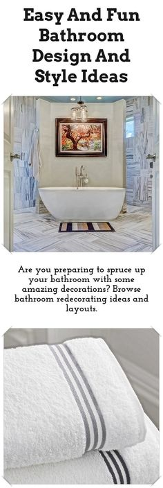 Bathroom Designs And Styles: Are You Planning To Spruce Up Your Bathroom  With Some Great