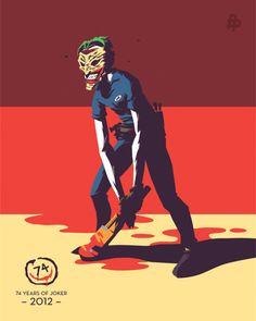 New 52 Joker by Florey