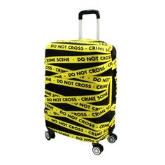Travel Luggage Cover Art Green Background Football Suitcase Protector