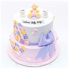 Baby swimmer / baby shower cake