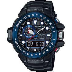 G-Shock Gulfmaster Tide Graph Radio Controlled Watch GWN-1000B-1BER