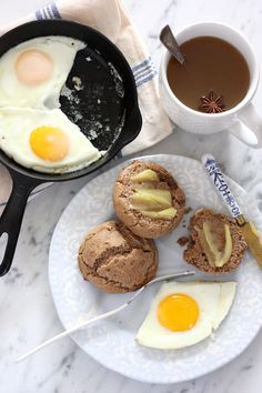 Chestnut Flour Biscuits -- Has egg but is dairy-free. Contains nuts. [gluten-free, vegetarian, paleo, grain-free]