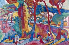 In 1905, French painters André Derain and Henri Matisse spent a summer in the South of France exploring a new freedom and spontaneity in painting; characterized by vibrant color, painterly, expressive brushstrokes, and an irreverent approach to the idea of representation in art, they defined what became the essential style of Fauvism, a brief but influential avant-garde art movement.