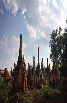 Indein Pagoda is to the south west of Inle Lake, in Shan State of Myanmar. How to get to Indian Pagoda, Indian Pagoda price Cheap Web Hosting, Pictures, Photos, Grimm