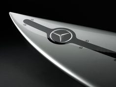silver arrow of the seas by mercedes-benz: surfboard with built-in telemetry