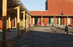 Escuela Strömberg en Helsinki de Kari Järvienen y Merja Nieminen. FOTO: Arno de la Chapelle