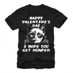 Men's - Get Dumped Grumpy Cat T Shirt
