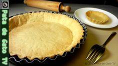 Pasta o masa quebrada para pay / shortcake pastry for pie