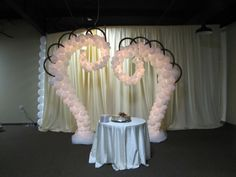 heart shaped table decorations | | Party Decor | Gatlinburg Balloon Decor | Sevierville Balloon Decor ...