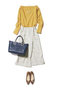 大人な冬のあったかスタイルはフルレングスのワイドパンツで叶います! ― B - ファッションコーディネート通販|ビストロ フラワーズ トウキョウ