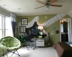 Teen Boys' Room Design, Pictures, Remodel, Decor and Ideas